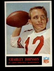 1965 CHARLEY JOHNSON PHILADELPHIA #163 CARDINALS EXMT/NM #1103