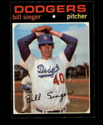 1971 BILL SINGER OPC #145 O PEE CHEE DODGERS EXMT/NM #3126