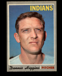 1970 DENNIS HIGGINS OPC #257 O PEE CHEE INDIANS NM #3644