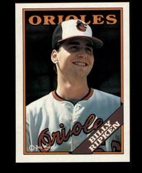 1988 BILLY RIPKEN OPC BLANK BACK RC O PEE CHEE ORIOLES #3667