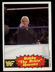 "1985 BOBBY ""THE BRAIN"" HEENAN OPC #8 O PEE CHEE #3739"