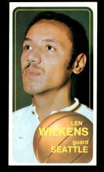 1970 LEN WILKINS TOPPS #80 SEATTLE NM #3775