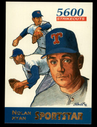 1992 NOLAN RYAN SPORTSTAR #1 TEXAS RANGERS - ONLY 25,000 MADE #3414