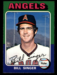 1975 BILL SINGER OPC #40 O PEE CHEE ANGELS NM #3872