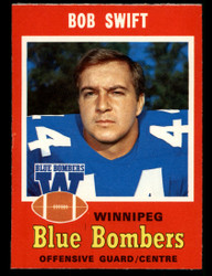 1971 BOB SWIFT OPC CFL #23 O PEE CHEE WINNIPEG NM #3934