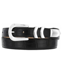 Catera Croco Belt - Black by Brighton (Sizes 32-52)