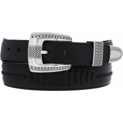 Salina Belt - Black by Brighton (Sizes 32-42)