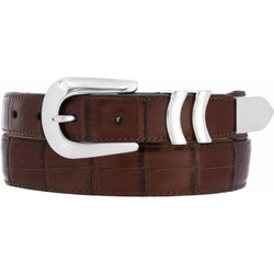 Peanut Catera Croco Belt by Brighton (Sizes 32-42)