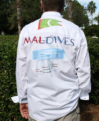 Bacchi Dive the Maldives Long Sleeve Shirt