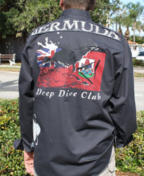 Bacchi Deep Dive Club Bermuda Long Sleeve Shirt
