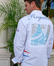 Bacchi Regatta St Maarten to St Barth Long Sleeve Shirt