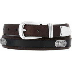 Roberts Golf Belt by Brighton - Brown-Black (Sizes 32-44)