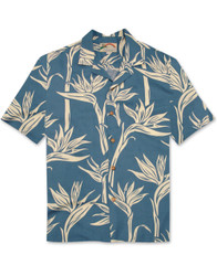 Pareau Paradise Shirt by Paradise Found - Blue