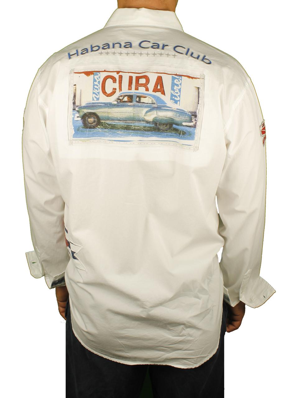 Bacchi Habana Car Club Long Sleeve Shirt