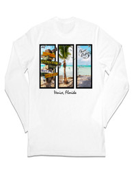 Venice Beach Signs Long Sleeve Sun Protection Shirt