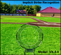This smaller piece is a great way to begin training strike recognition implicitly.  Light weight and very user friendly.  All of our front toss pieces are usable in both baseball and softball. Using these pieces brings greater clarity to the strike zone.  Its very similar to wearing polarized sunglasses. We can see a more vivid world when the visual noise is reduced.