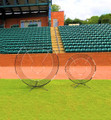 The two piece set (VX-Series) is the  ultimate in implicit training.  Because of the universal nature of space each of these pieces can be converted into pitching pieces and used to train pitchers.
