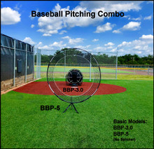 The 2 piece combo is a great way to get started training implicitly.  The combination allows pitchers to throw through enhanced spaces that correlate to better command.