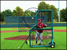 This overhand model addresses strike recognition at a functional level.  Implicit training allows the hitters brain to make real time adjustments during bp. The distinct contrast between balls and strikes helps the hitters brain develop a well defined strike zone.