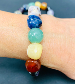 These beautiful delicate crystal bracelets are hand made with great love and care. Provide daily energy, calming and no more stress or depression, better judgment for any step you takes.. Spinner wheels of positivity for every day.