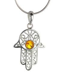 The Hamsa Hand or Hand of Fatima is an ancient Middle Eastern talisman. Across many religions it is a protective symbol. It is talismanic that is believed to protect people from harm against the evil eye and bring them goodness, abundance, fertility, luck and good health.  Height: 3.50 cm with the hook  Width: 2cm