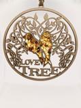 Love Tree Amber Mandala and magnet decoration ornament 11cm