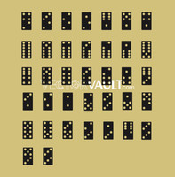 image free vector dominoes