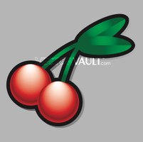image free vector freebie pair of cherries