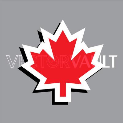 Buy Vector Canadian Maple Leaf Image free vectors - Vectorvault