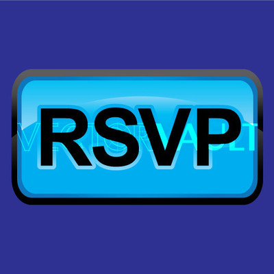 Buy Vector RSVP button Image free vectors - vectorvault