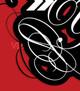 Vector save your work typesetting logo lockup swirls
