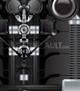 vector illustration of robotic components controls