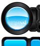 Vector Aqua Bubble Glossy Components