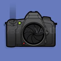 image buy vector slr camera drawing illustration