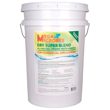 Enhance MegaMicrobes SuperBlend in commercial 25-pound size.