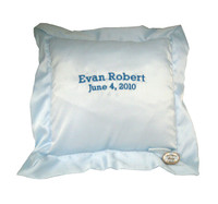 Sweet Dreams Baby Pillow -  Blue or Pink