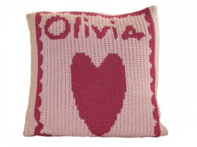 Baby Personalized Pillow | Heart