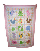Baby Animal Quilt | Custom Baby Quilt