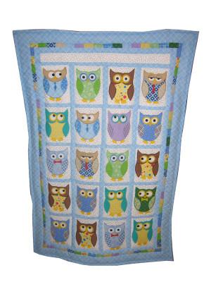 Baby Quilt | Custom Owl Baby Quilt