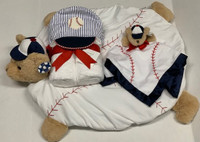 Personal Baby Gift | Baseball 3 Piece Gift Set