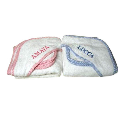 Twin Gifts  - 3 Marthas Gingham Trimmed Towels