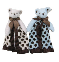 Bearington Bear Twin Snugglers - Posh Dot