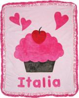 Boogie Baby Custom Blanket-Cupcake