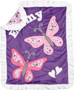 Boogie Baby Butterfly Blanket