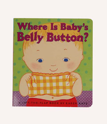 Baby Book - Where Is Baby's Belly Button?