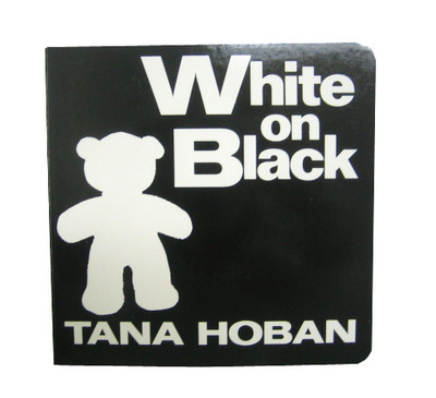 Baby Book | White on Black