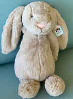 Jellycat Plush Toy - Bashful Large Beige Bunny