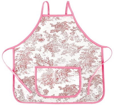 Kids Apron | Personalized Toile Apron