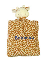 Angel Dear Personalized Security Blanket - Brown Giraffe