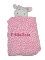 Angel Dear Personalized Security Blanket | Pink Giraffe